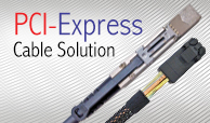 PCI-Express Cable Solution