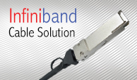 Infiniband Cable Solution